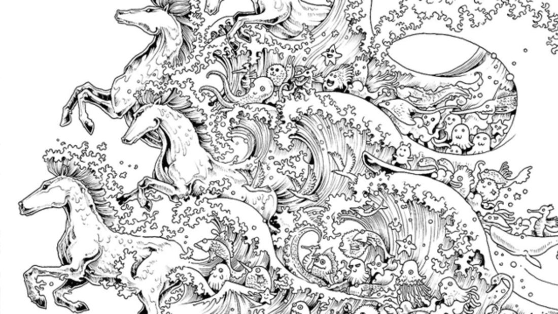 - 10 Intricate Adult Coloring Books To Help You De-Stress Mental Floss