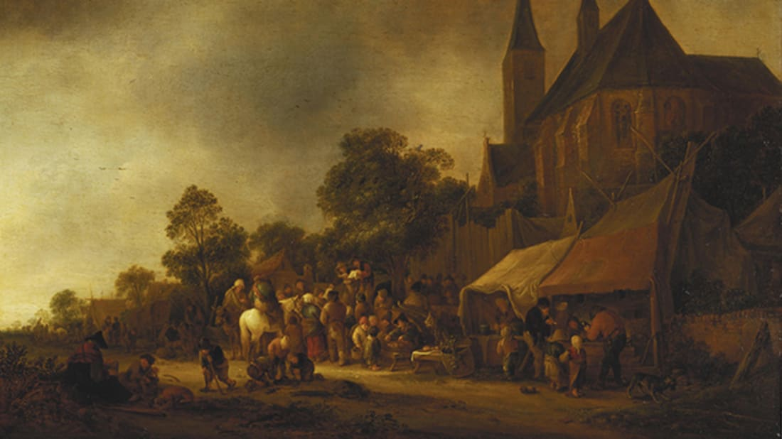 Isack van Ostade via The History Blog