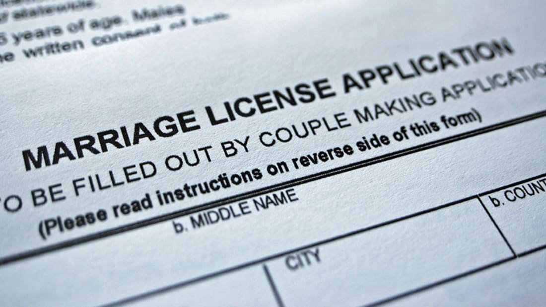 What Is a Confidential Marriage License and Why Does