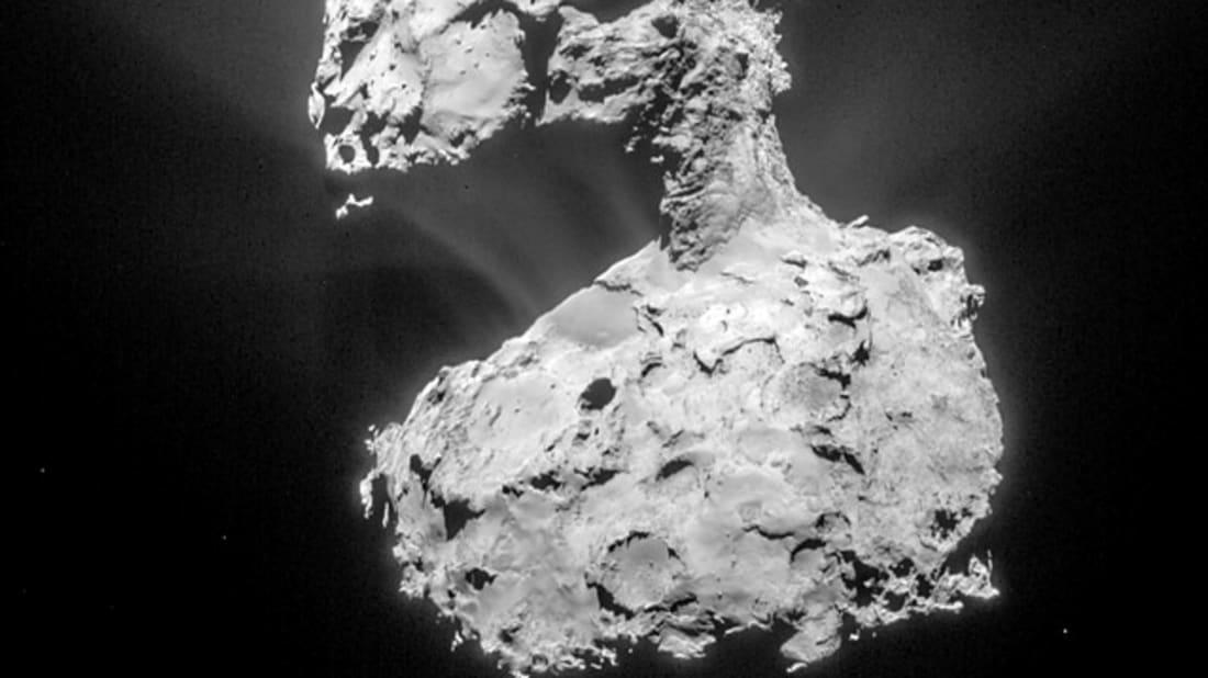 ESA/Rosetta/NAVCAM via Flickr // CC BY-SA IGO 3.0