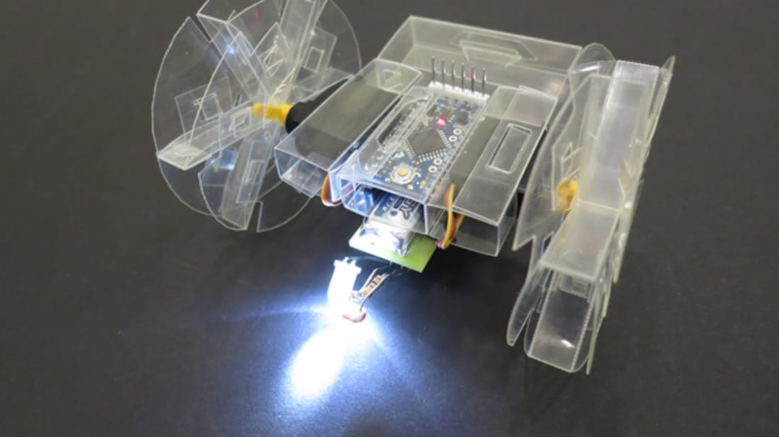 How to Build Your Own Origami Robot   Mental Floss