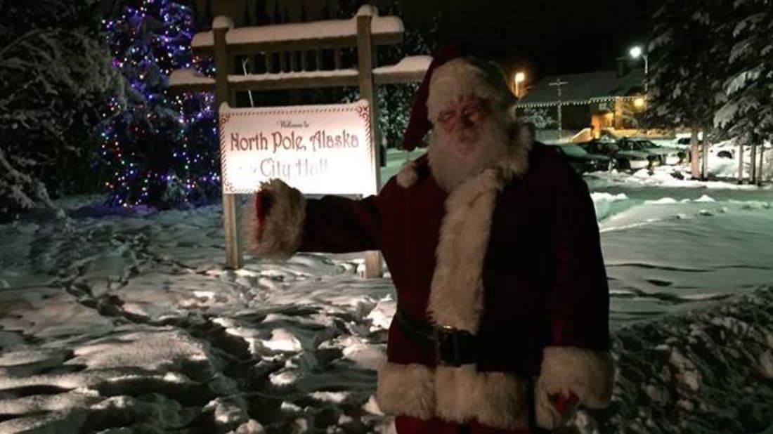Santa Claus via Facebook