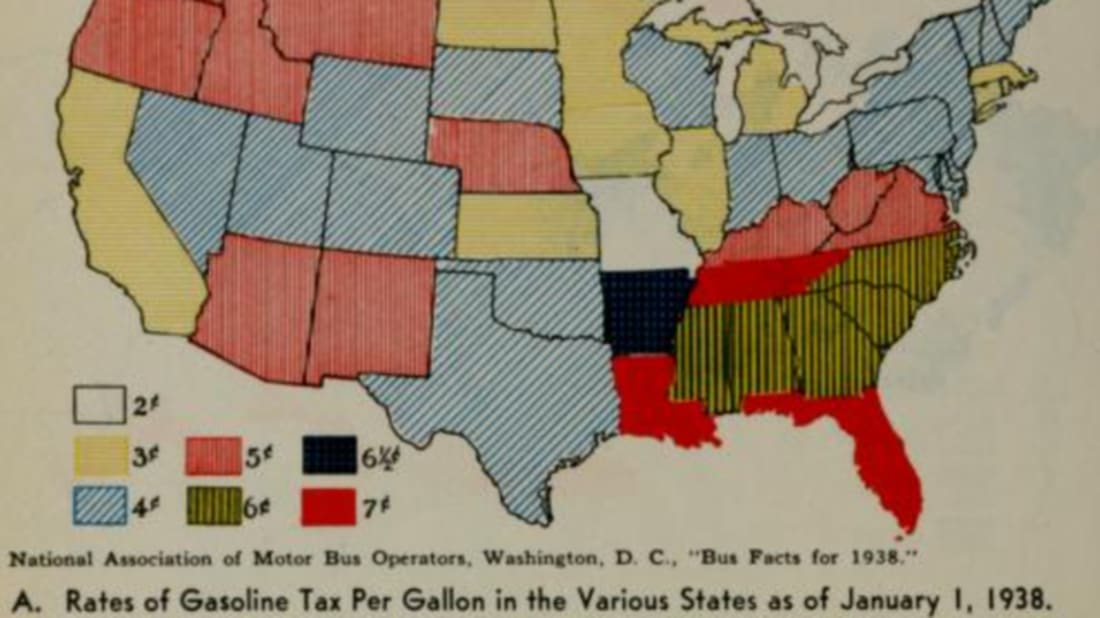 Check Out These Infographics From the 1930s