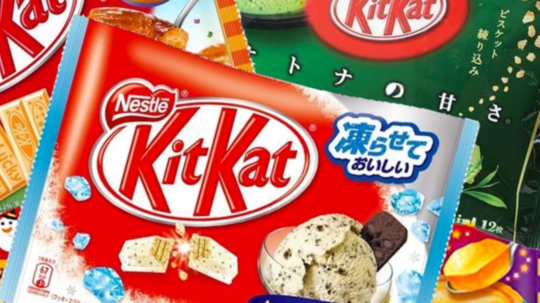 14 Weird Kit Kat Flavors You Can Actually Buy   Mental Floss