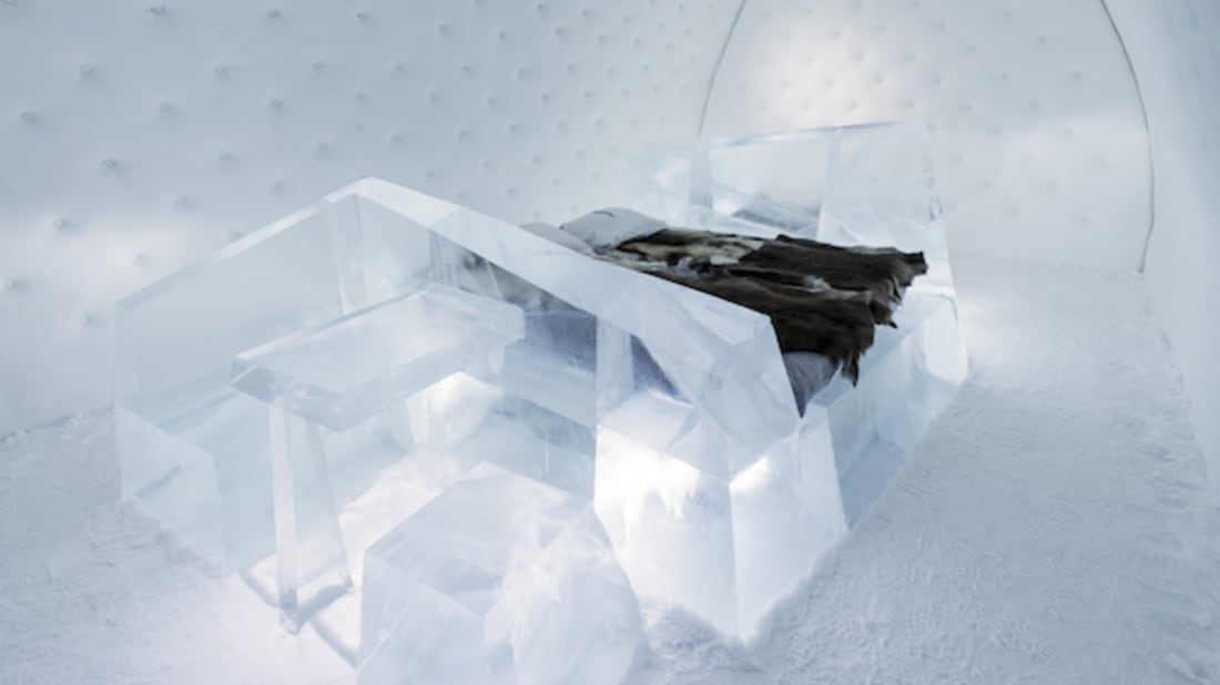 """Wouter Biegelaar's """"Iceberg"""" // Icehotel"""
