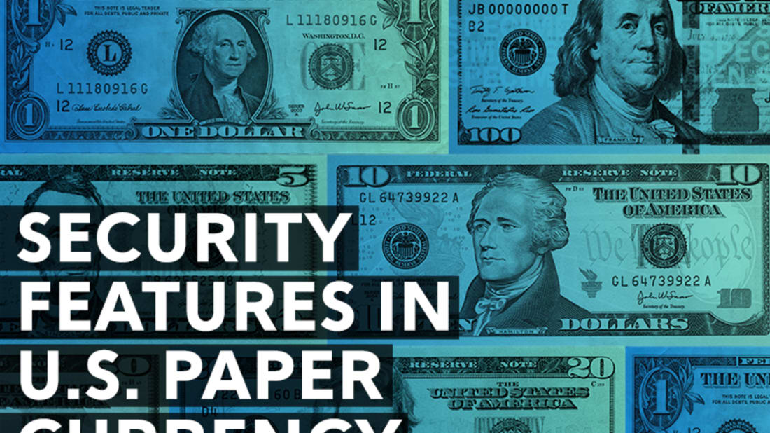 Security Features in U S  Paper Currency | Mental Floss