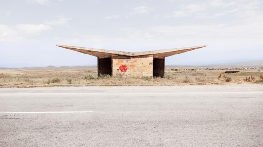 Soviet Bus Stops via Facebook