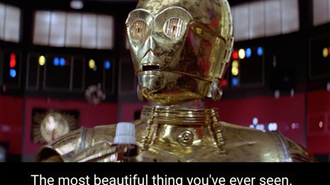 YouTube / Star Wars Episode IV: 'Laser Moon Awakens'