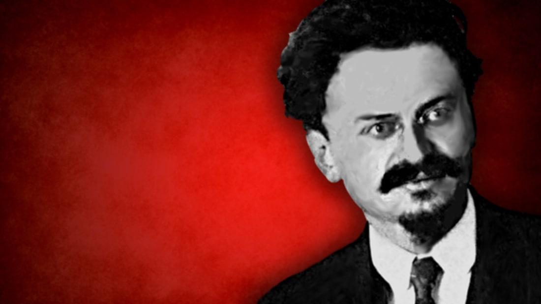 Wikimedia Commons (Trotsky) / iStock (Background)