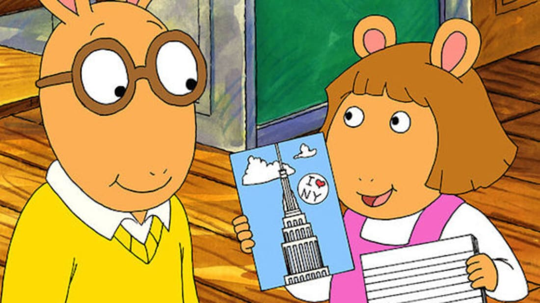 The cast of arthur is all grown up lets see what they