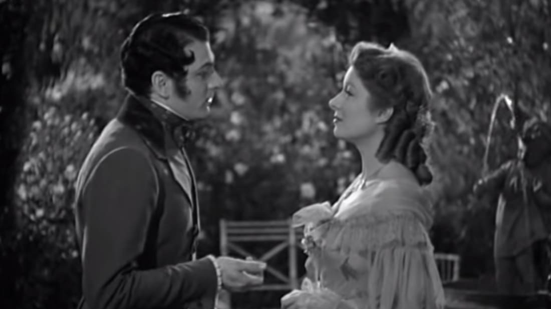 Pride and Prejudice (1940), screenshot via YouTube