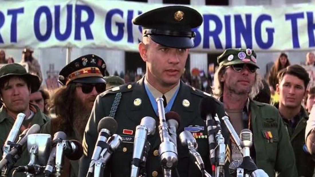 What Forrest Gump Said at the Vietnam Protest March | Mental Floss
