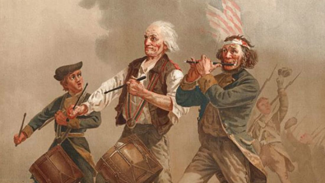Yankee Doodle by A.M. Willard // Public Domain