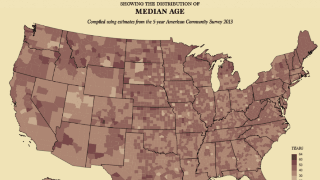 Maps Of Current Us Census Data In 19th Century Style Mental Floss - Us-census-data-map