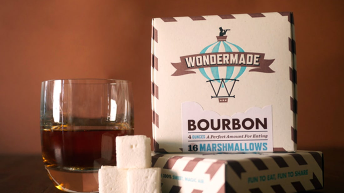 Bourbon Mashmallows, via Wondermade