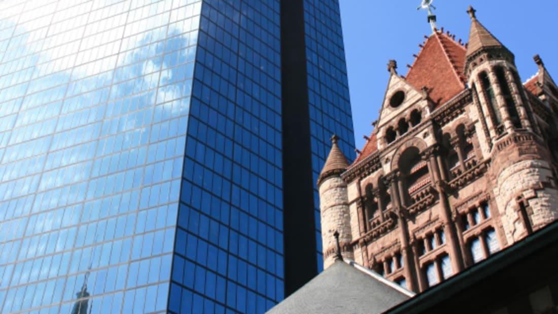 Boston'sJohn Hancock Tower, via iStock