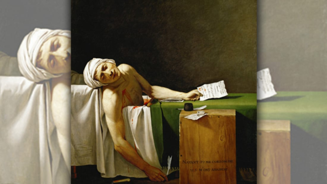 15 Things You Should Know About 'The Death of Marat ...