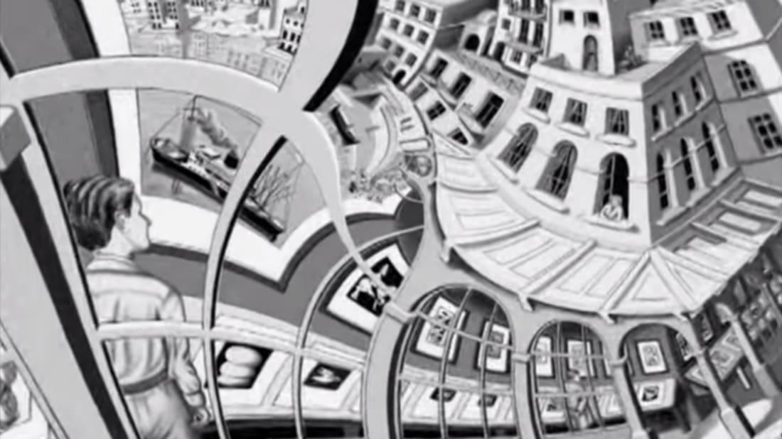 Take A Trippy Journey Into An Mc Escher Drawing Mental Floss
