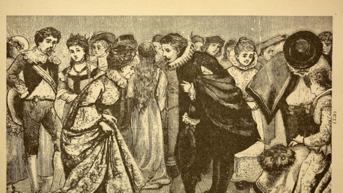 dating etiquette in the 1800s