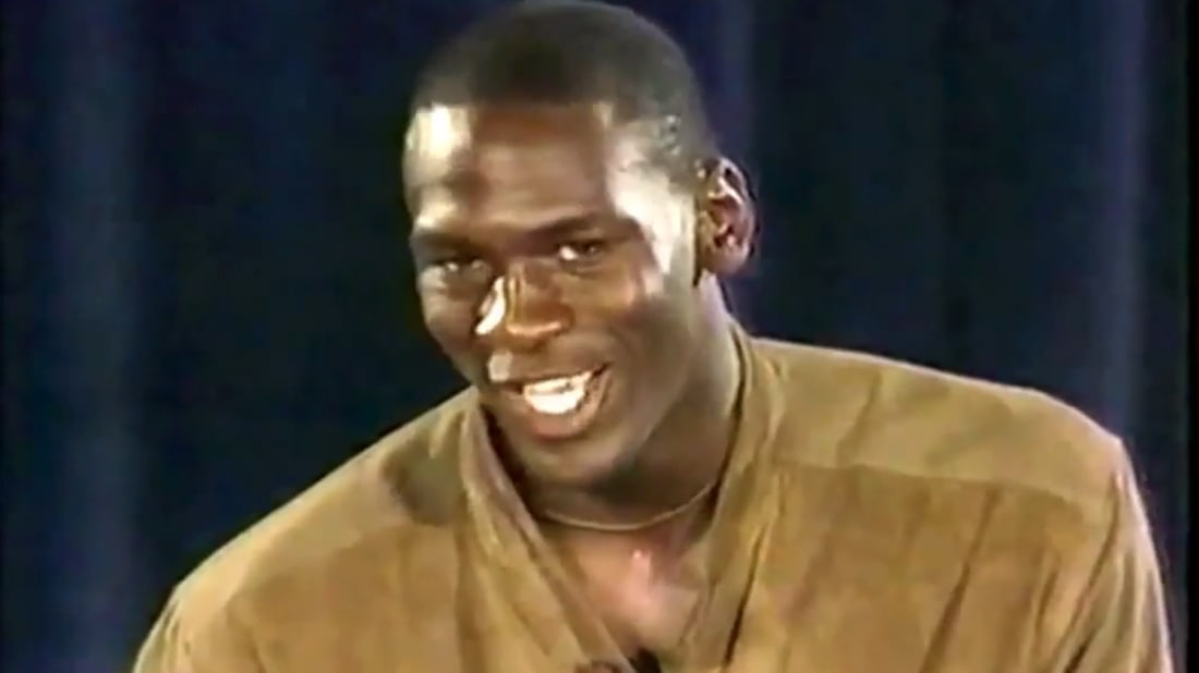 Watch Michael Jordans Rookie Of The Year Speech Mental Floss