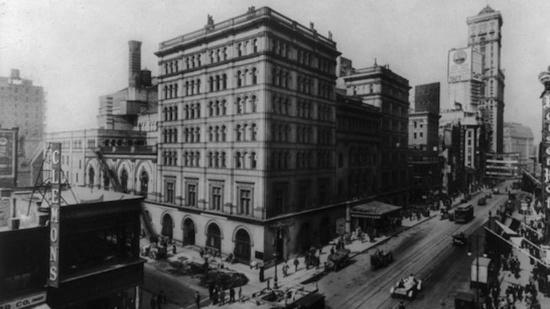 15 Of New York City S Lost Landmarks Mental Floss