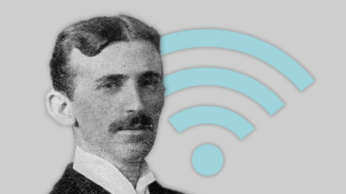 nikola tesla (getty images) / istock (wifi)