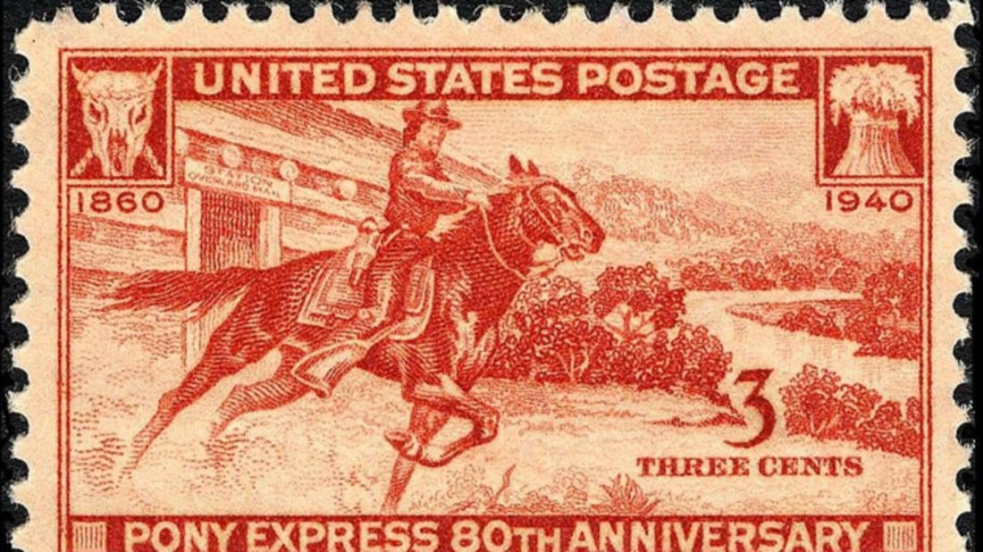 Image result for pony express
