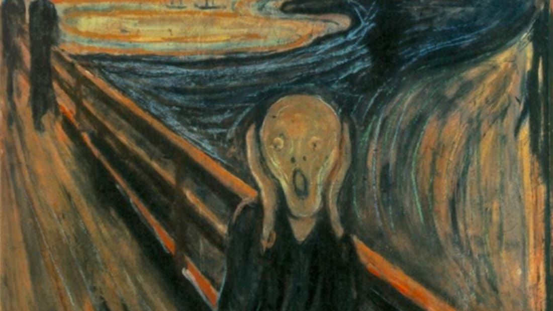 Il miglior posto top design rivenditore online 14 Things You Didn't Know About 'The Scream' | Mental Floss