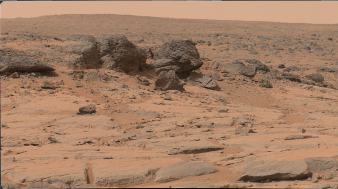 """Curiosity Rover, Sol 127: Driving toward Yellowknife Bay — Accessed from Analyst's Notebook"""""""