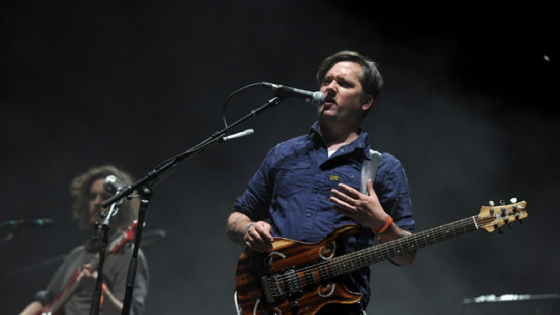 isaac brock of modest mouse, via getty images
