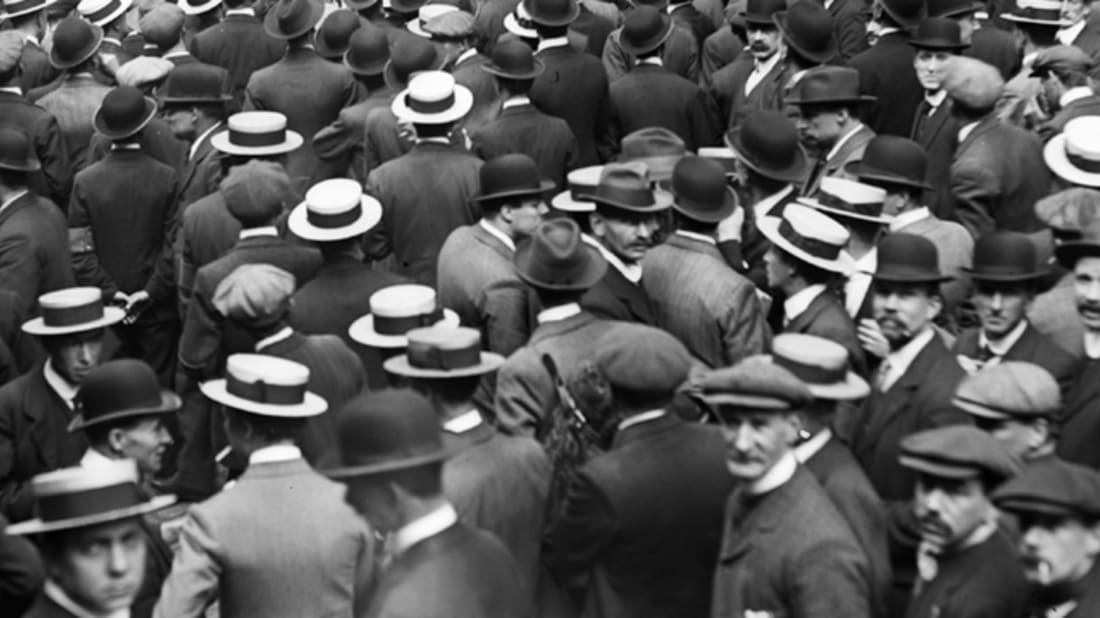 06d486174 The Straw Hat Riots of 1922 | Mental Floss