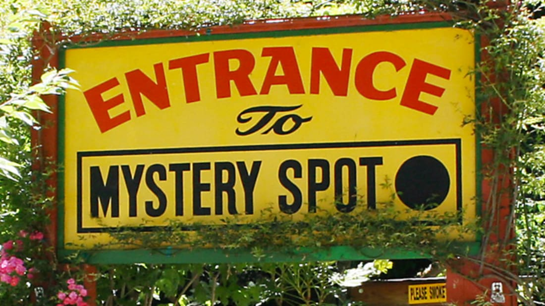 10 Magnetic Hills, Gravity Roads, and Mystery Spots   Mental