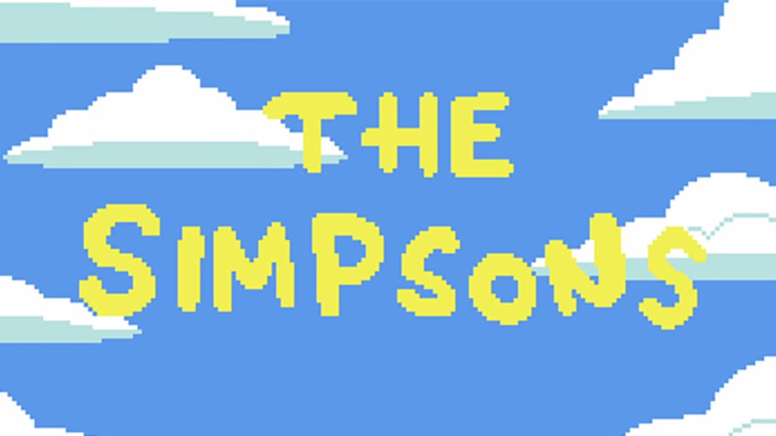 YouTube / simpsons pixels