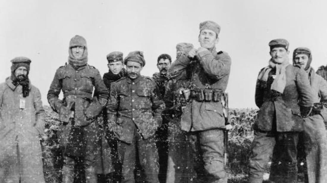 Wwi Christmas Truce.The Wwi Christmas Truce Of 1914 Mental Floss