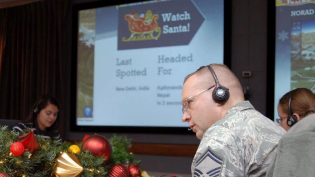 NORAD's Santa Tracker Facebook Page