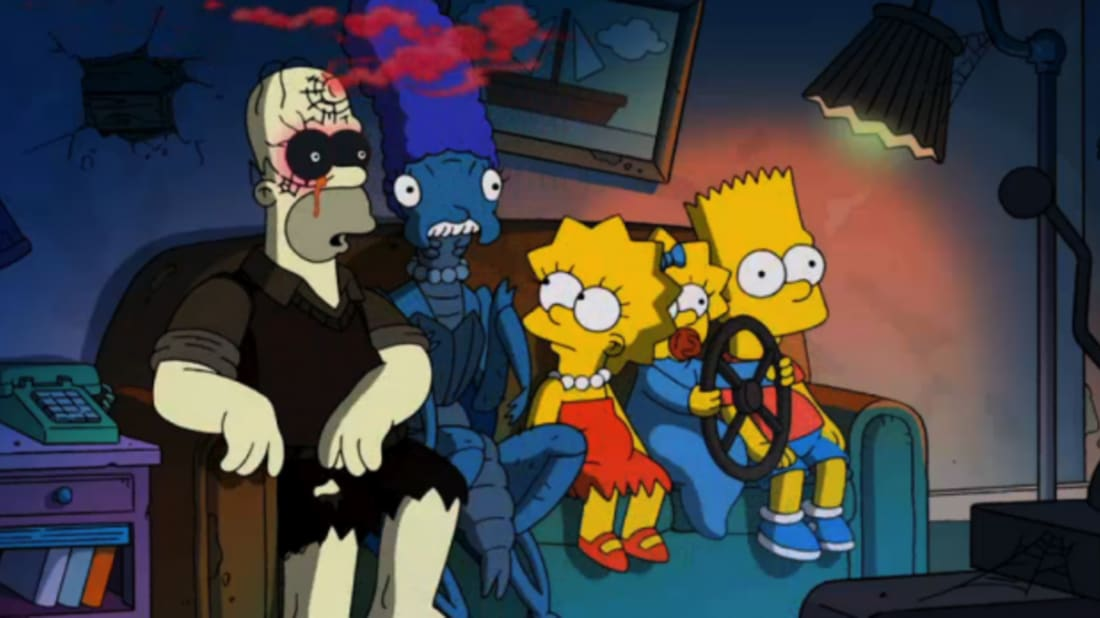 13 Facts About The Simpsons' 'Treehouse of Horror' | Mental