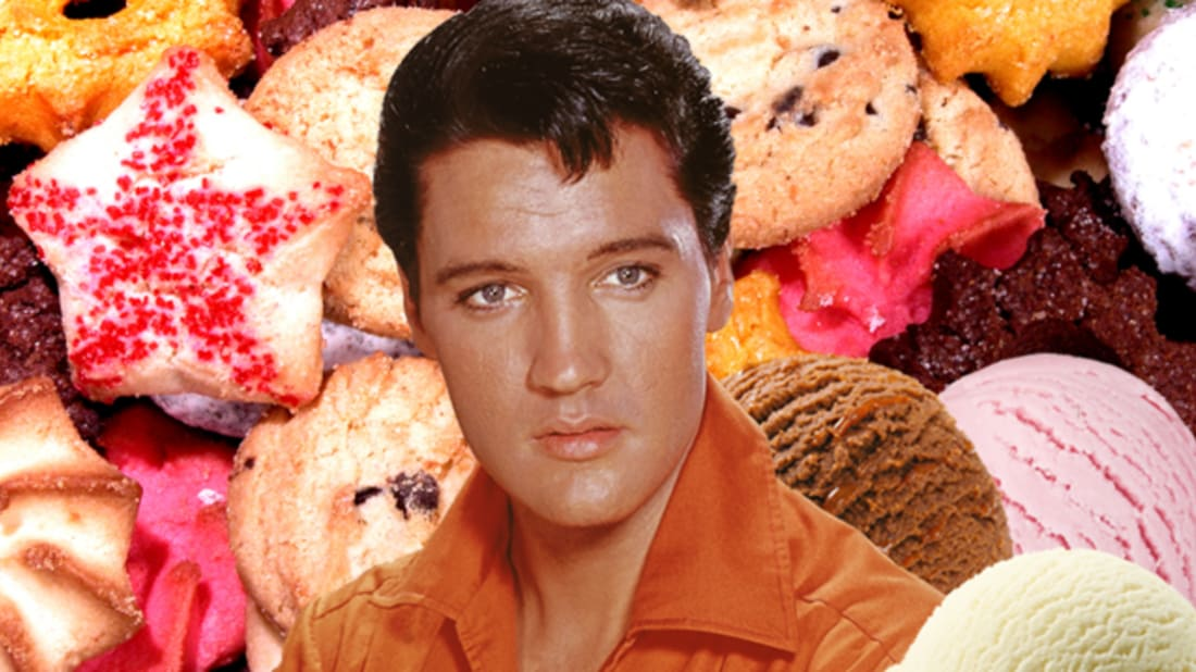 istock (food)/Getty Images (elvis)/Rebecca O'Connell