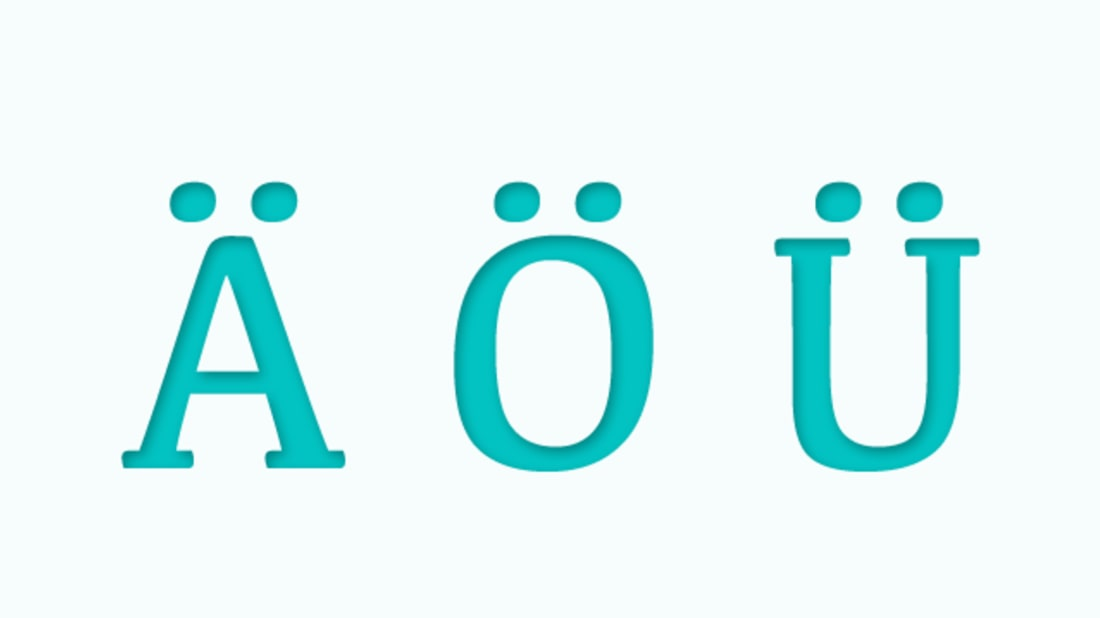 11 Facts Yü Should Know About the Umlaut