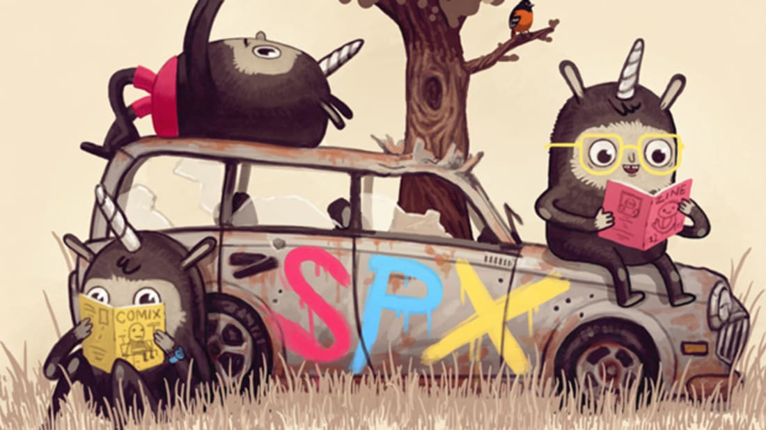 Mike Mitchell/Small Press Expo