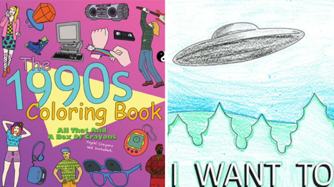 14 Unusual Coloring Books for Adults | Mental Floss