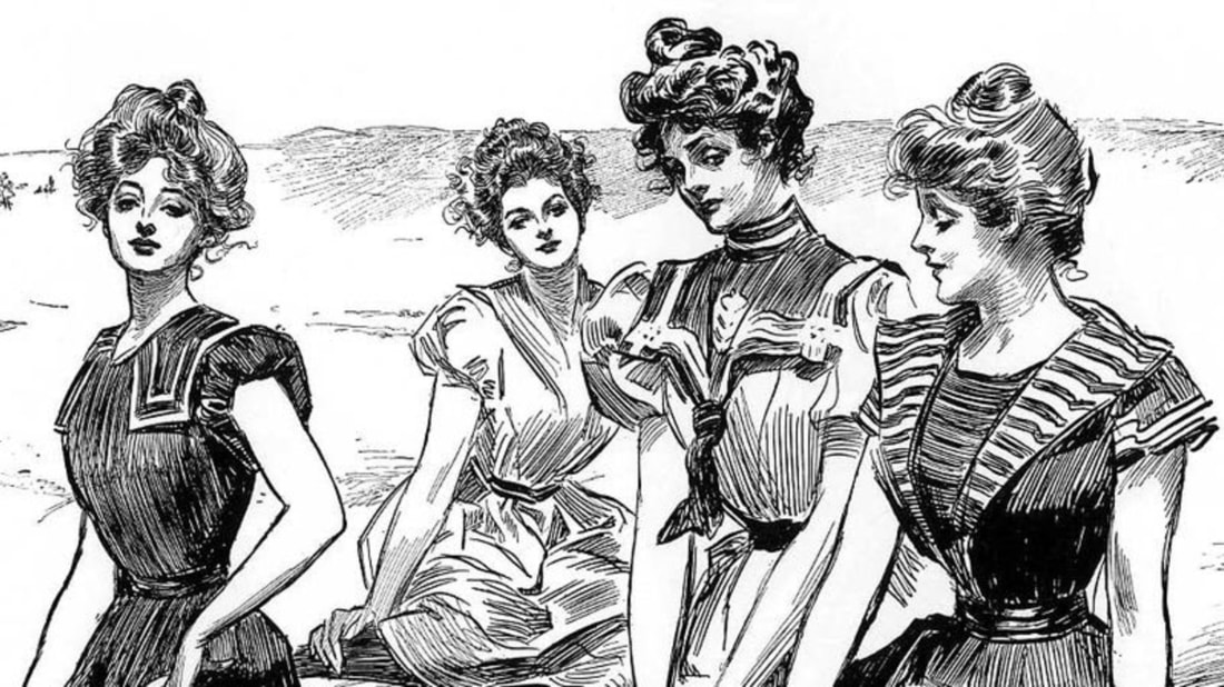 The Gibson Girls: The Kardashians of the Early 1900s
