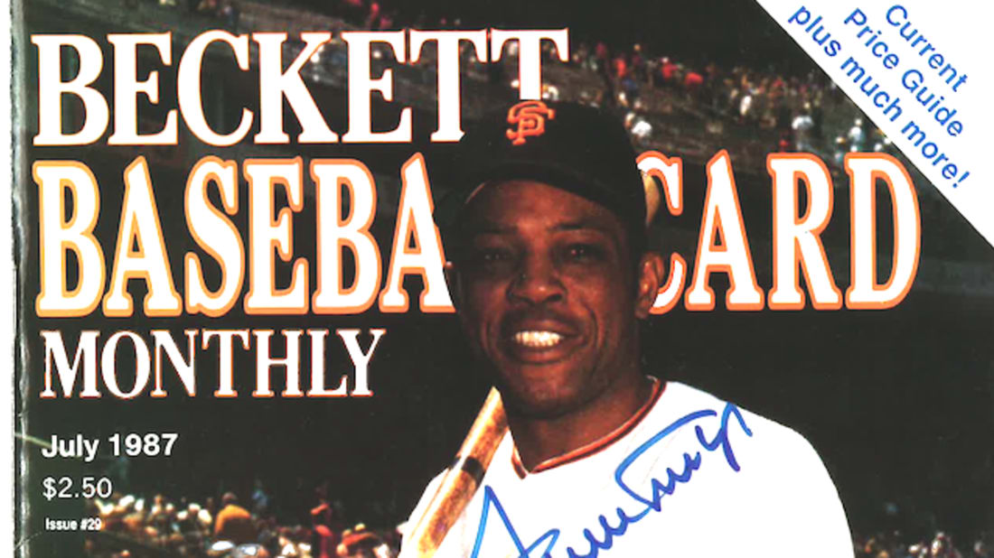 The Sweetest Man In History Writes To Beckett Baseball Card