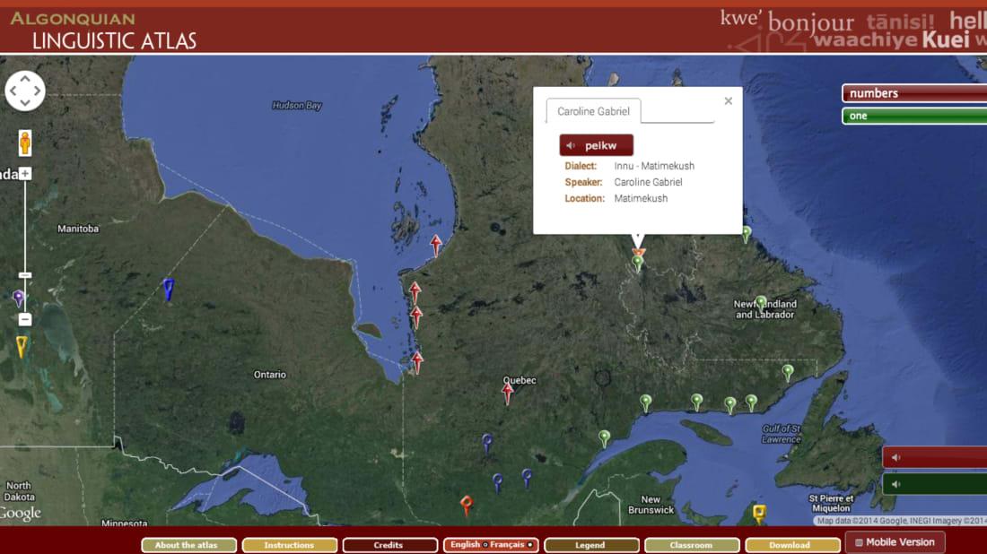 Algonquian Linguistic Atlas