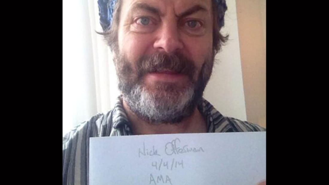 Nick Offerman's Twitter Account