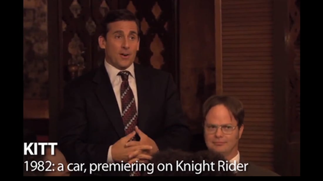YouTube / The Office Time Machine