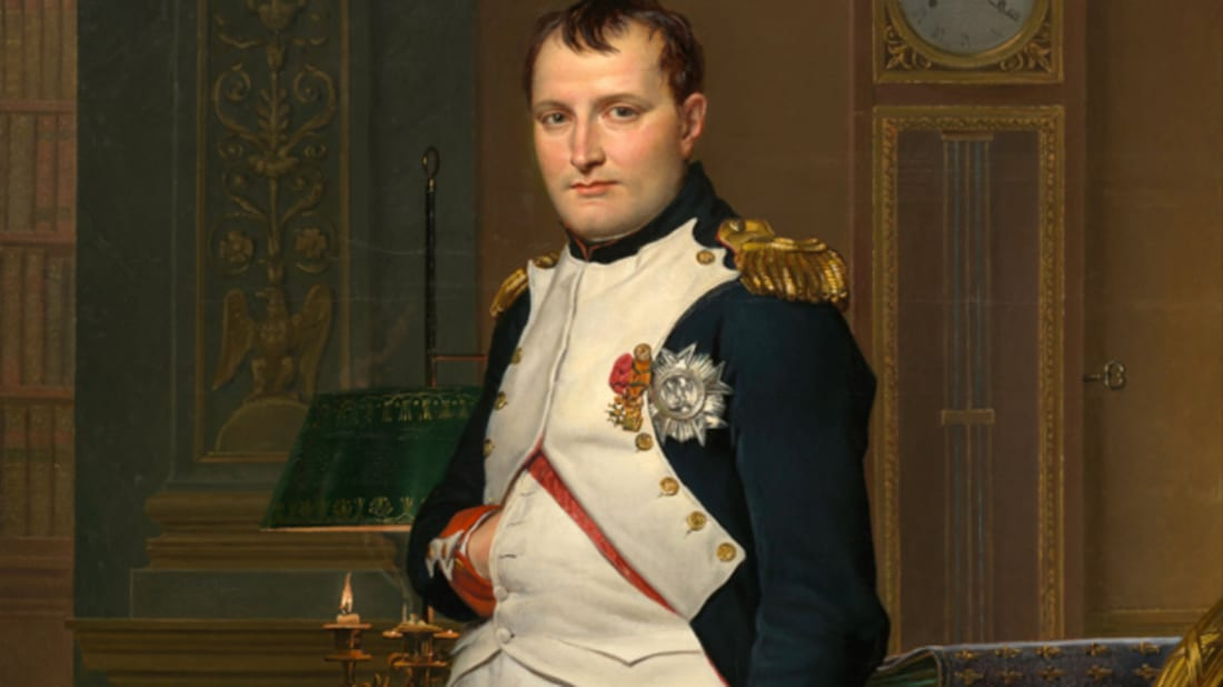 Napoleon in His Study, Jacques-Louis David