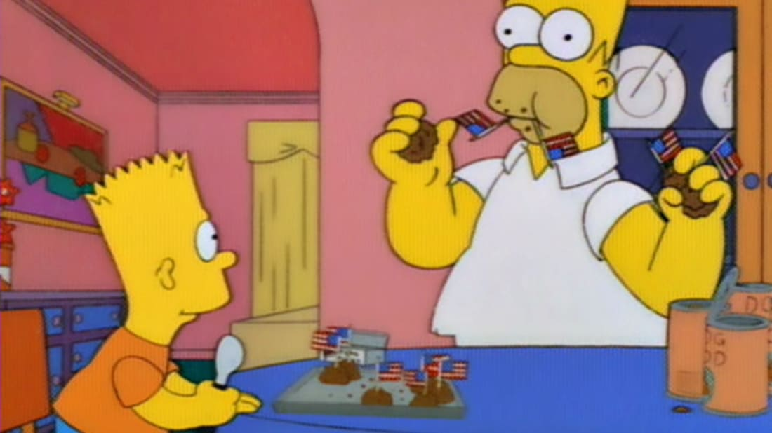 Simpsons Christmas Boogie.12 Simpsons Easter Eggs You Might Have Missed Mental Floss