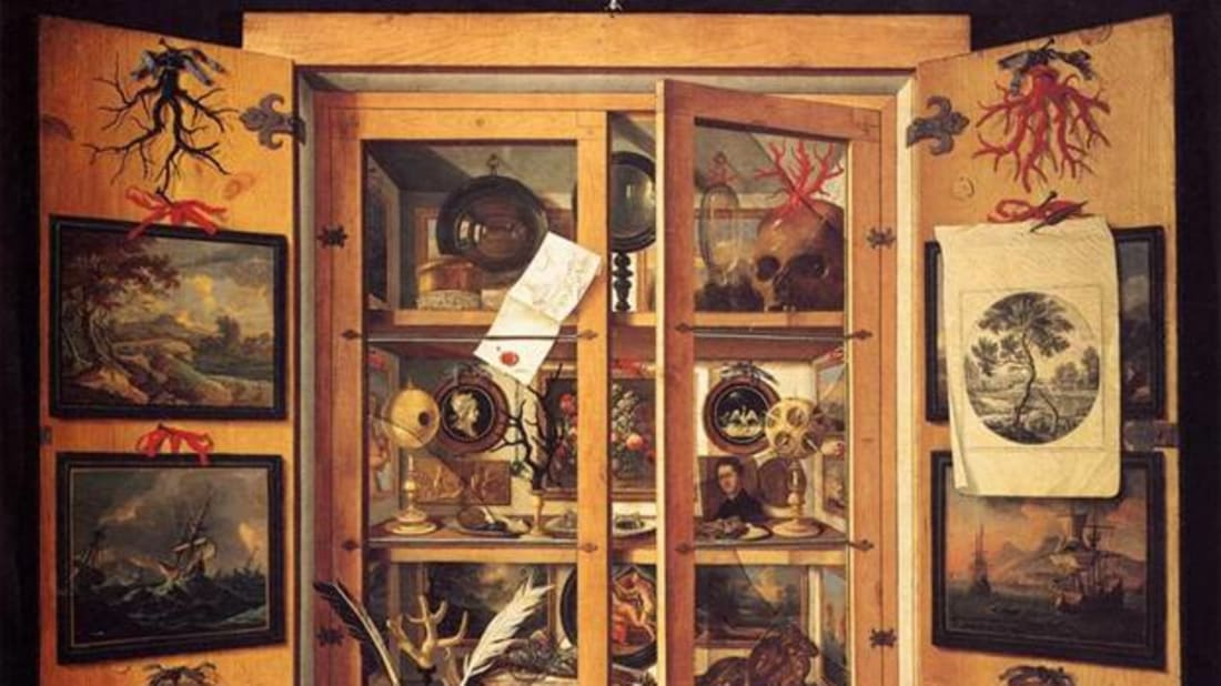 11 Wonderful Wunderkammer, Or Curiosity Cabinets | Mental Floss