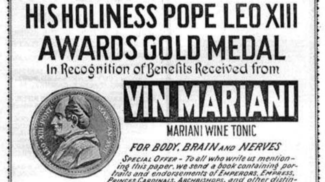 Vin Mariani ad, via The Atlantic