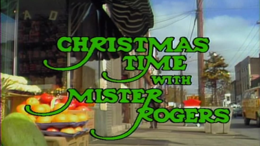 Image result for mister rogers christmas episode